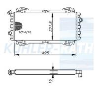 Ford radiator (77FB8005MA 77FB8005MC 77FB8005NA 77FB8005FG 77FB8005HB 1613264)