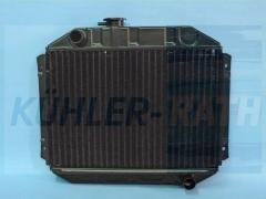 Ford radiator (3024E8005A 3024E8005B 6028425 1417980 1433932 1433942 1467645 819161)