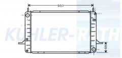 Ford radiator (88GB8005FC 88GB8005FA 6185713 1659461 2133010001 21836)