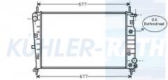 Ford radiator (95BB8005BA 1011985)