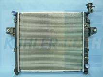 Jeep Wasserkühler (52079425 52079425AB 52079425AC 52079425AD 52079425AE)