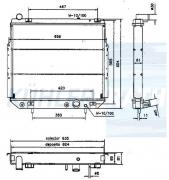 Jeep Wasserkühler (52079498 52079498AB 52079498AC)