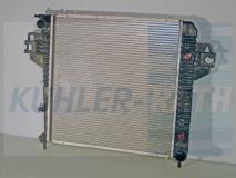 Jeep Wasserkühler (52079728AA 52079728AB 52079729AA 52079729AB 52079729AC 52080118AA 52080118AB 5208