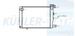 Peugeot Wasserkühler (130918 130920 1300T7)