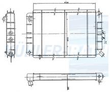 Peugeot Wasserkühler (130596 130597 1300T4)