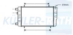 Rover Wasserkühler (ARP1169 ATP1084)