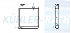 Rover Wasserkühler (ARA2807 ARP1088)