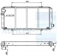 Peugeot Wasserkühler (1301C1 1301C2 1301K4)