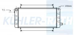 Rover Wasserkühler (FRP1206)