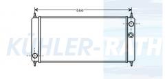 Rover Wasserkühler (NAM2399 NAM5022 NAM5022S 883831)