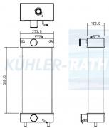 Doosan/Bobcat Wasserkühler