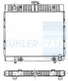Mercedes-Benz radiator (1235010801 1235010901 1235013301 1235013801 2106010009 01416 819216)