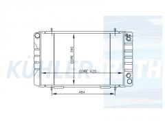Land Rover Wasserkühler (ESR0204LD)