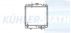 Suzuki Wasserkühler (1770064D10)