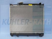 Suzuki Wasserkühler (1770060A00 1770060A01 1770085001 1770061A00)