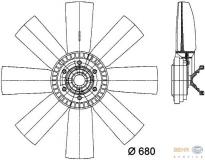 Volvo Viscolüfter (8149395 61001)