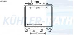 Kia Wasserkühler (KK18015200 KK18015200A)
