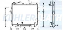 Kia Wasserkühler (OK05815200)