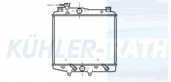 Daihatsu Wasserkühler (1640087F07)