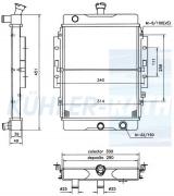 Daihatsu Wasserkühler (16400X3951)