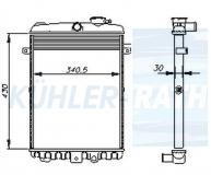 Audi/VW Wasserkühler (321121253A 321121253C 823121251C 823121251D)