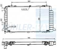 Audi Wasserkühler (893121251AA)