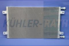 Komatsu condenser (56E0721132 56E-07-21132)