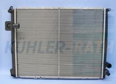 Renault radiator (7701035719 730541)