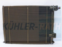 Renault radiator (7701035951 730545)