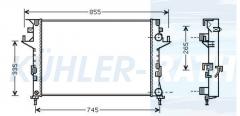 Renault Wasserkühler (8200008766 2110468)
