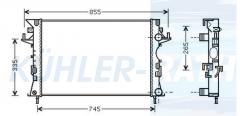 Renault Wasserkühler (8200033729)