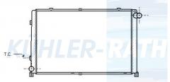 Renault Wasserkühler (7701037136)