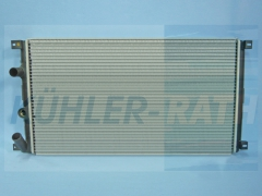 Renault/Nissan/Opel radiator (7701049664 09111216 4403216 771113425)