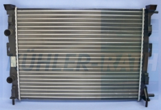 Renault radiator (8200115541 732873)