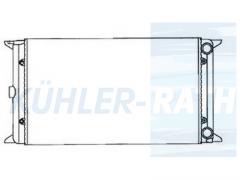 VW Wasserkühler (171121253BG 171121253BA 171121253N)