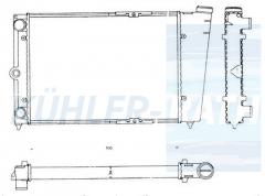 VW Wasserkühler (321121251AS)
