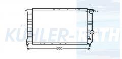 Renault radiator (7700794203 816553)