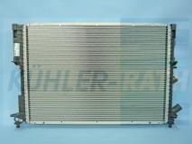 Renault radiator (7701044076)