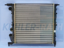Renault radiator (7701034768 7701412007)