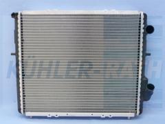 Renault radiator (7700804240 7701654132)