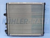 Renault radiator (7700304932 7700312858 8200140972 731910)