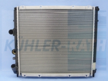 Renault radiator (7700301171 732072)