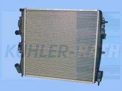 Renault radiator (8200240818 8200072712)