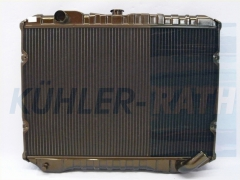 Mitsubishi radiator (MB356389 MB356390)