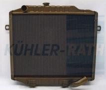 Mitsubishi radiator (MB127771 MB356343 MB356344)