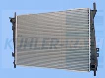 Jaguar radiator (C2S1231 734785)