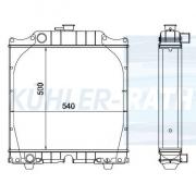 Ford/Fiat/New Holland radiator (5161005)
