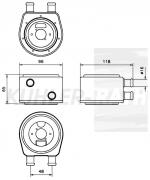 Universal Ölkühler (1A14001C)
