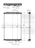 RVI radiator (5001866280 5010619446)
