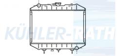 Wasserkühler passend für Isuzu (4292311 911138760)